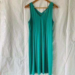 Athleta Mini V Neck Sleeveless Modal Tank Dress